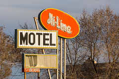 Hi-Line Motel -1 (nikons4me) Tags: arizona az hilinemotel sign old decay weathered nikond7100 route66 motherroad motel rundown ashfork closed nikonafsdx18200mmf3556gifedvr