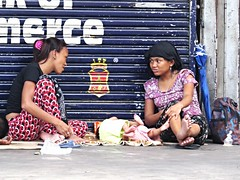 manila street shots (DOLCEVITALUX) Tags: people corn babies outdoor philippines police security manila paparazzi snapshots vendor seller kalesa calesa horsecarriage canonpowershotsx50hs