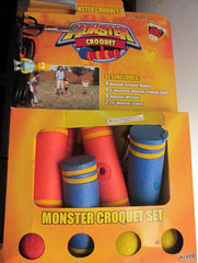 20150530 - yardsale haul - IMG_0466 - Monster Croquet (Rev. Xanatos Satanicos Bombasticos (ClintJCL)) Tags: 20150530 201505 2015 yardsale yardsale20150530 virginia alexandria clintandcarolynshouse upstairs game croquet monstercroquet