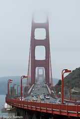 090824 Golden Gate-01.jpg (Bruce Batten) Tags: trees california locations sanfranciscobay plants trips occasions oceansbeaches subjects transportationinfrastructure vehicles automobiles goldengate businessresearchtrips bridges usa sausalito unitedstates us