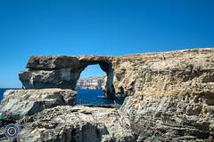 Looking through the Azure Window (Michael N Hayes) Tags: malta valletta mediterranean europe azurewindow dwerja gozo summer fujifilmxpro1 sea culture city