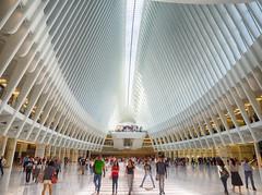 The Oculus (C@mera M@n) Tags: hdr newyorkphotography urban manhattan nyc people newyork oculus city newyorkcity places ny