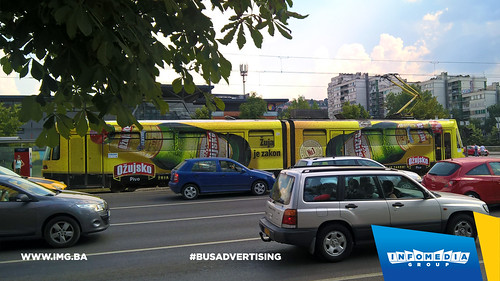 Info Media Group - Ožujsko pivo, BUS Outdoor Advertising, Sarajevo 07-2016 (3)
