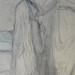 CHASSERIAU Théodore,1843 - Ste Marie l'Egyptienne, Etude pour l'Eglise St-Merri, Paris (drawing, dessin, disegno-Louvre RF24372) - Detail 51