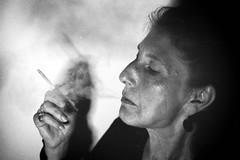 The Writer (inksmelladdict27) Tags: woman smoking glamerous faded glamour film fomapan200 push pushprocessing fadedglamour minoltax300 minoltalens mdmountlens minolta poet poetry face blackandwhite analog scanned filmnoir