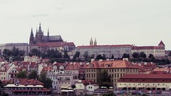 Prague Castle (Andrs Revuelto) Tags: prag praha prague czech republic tschechien kraluv most chalres bridge karlsbrcke castle burg old town altstadt moldau