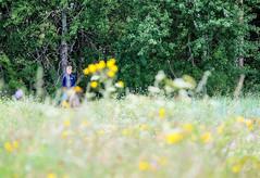 Lucas on the top of the dike (Lars Plougmann) Tags: denmark falster wildflowers flowers dike boy vggerlse regionzealand dk dscf3595