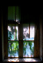 (bratchuli) Tags: windows old dust torn curtains