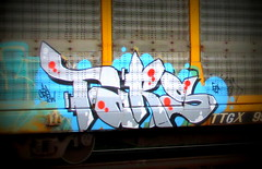 (timetomakethepasta) Tags: tars aa crew jase con arek are2 freight train graffiti art autorack