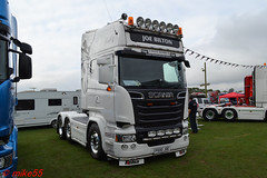 Scania R 'Joe Bilton' reg P500 JOE (erfmike51) Tags: scaniar artic truck v8 lorry joebilton swedefest2016