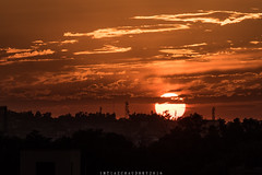 Sunset (imtiazchaudhry) Tags: sunset sky horizon set trees silloute clouds tones crimson hues