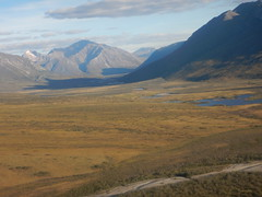 The Noatak River valley -- we've finally arrived at Gates of the Arctic National Park!