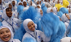 Malaysia 59th National Independence Day (Chot Touch) Tags: kualalumpur dataranmerdeka merdeka merdekaparade merdekasquare colours ricohgxr malaysiastreetphotographer emotion hijab
