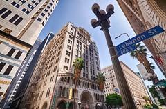 Downtown (@u.s.e.f.u.l.i.d.i.o.t) Tags: nikon d5100 travel voyage noobsnewlearning noob california californie losangeles sunny etatsunis usa architecture building wideangle hdr