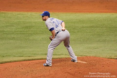 Danny Barnes (jwdonten) Tags: majorleaguebaseball americanleague torontobluejays tropcianafield dannybarnes