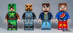 Lego Minecraft Skin Pack (gnaat_lego) Tags: hellobricks lego minecraft review skinpack gnaat