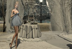 Modern Vintage (Jamee Sandalwood - Miss V SWEDEN 2015) Tags: sl secondlife slfashion art artphotography azul envogue hair blonde outside outdoors couture chic casual pixel virtual model photography photo fashion fashionartphotography fashionart photoart 500v20f