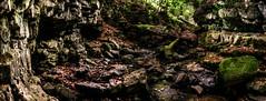 dead end (Jamie  Sproates) Tags: wwwjamiesproatescom stanhope shittlehope burn weardale stream ravine hdr panorama 5d mk3