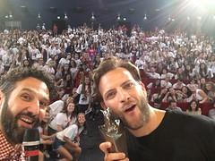 Alessandro Borghi (giffonistory) Tags: alessandroborghi 2016 manliocastagna selfie giffoniaward giurati salatruffaut 46a