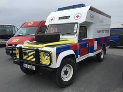 Irish Red Cross - Land Rover Ambulance - Doolin Harley Fest Charity Run - September 2016 - Lahinch, County Clare. (firehouse.ie) Tags: irish ambulance ambulances ambulans ambullanz ambulanzia ambulancia rover land cross red mcc mc run 2016 ireland hogs bikes lahinch doolin festival fest davidson harleyfest harley