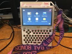 Pocket Chip (RobotSkirts) Tags: pocketchip chip badboysbailbonds lanyard