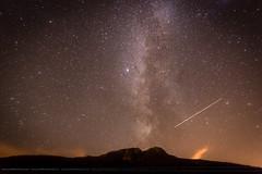Voie Lacte 2 (wanajo38) Tags: montagnes clouds nuages lacguichard coldelacroixdefer stars timelapse timelaps automne lac mountains voie lacte etoiles voielacte