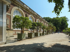 Orangerie within Luxembourg Gardens (eutouring) Tags: paris france travel luxembourg luxembourggardens jardinduluxembourg nature garden gardens jardin orangerie trees tree