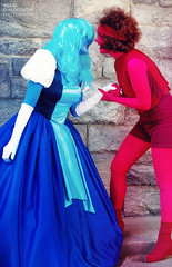 THE ANSWER IS... - 01 (dr_teng) Tags: steven universe lgbt new york city cosplay ruby sapphire