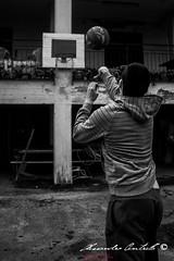 For two point (Alessandro Centrella) Tags: bw italy guy sport canon eos italia basket sigma bn 10d alessandro ragazzo pallacanestro avellino irpinia centrella