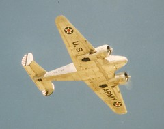 N9562Z Beech C-45G Expeditor c/n AF-12 ex 51-11455 (eLaReF) Tags: ex cn airplane force air confederate 1993 caf beech warbird midland expeditor n9562z kmaf c45g af12 cafshow 5111455