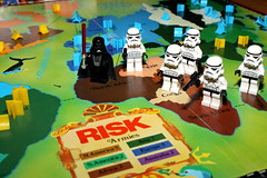 Risk! (Crisp-13) Tags: storm trooper game dark star risk lego board lord darth stormtrooper wars vader sith