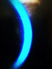 Light scimitar (Anjesen) Tags: blue light luz azul glow knob perilla brillo scimitar volumen cimitarra uploaded:by=flickrmobile flickriosapp:filter=nofilter anjesen
