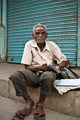 (Sbastien Pineau) Tags: portrait india man raw retrato madras portraiture chennai hombre tamilnadu homme inde southindia
