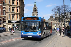 MAN from Manchester (Moving Britain) Tags: sheffield 22213 stagecoachyorkshire t213tnd