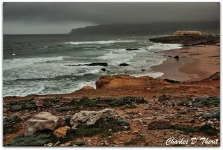 Cabo da Roca, Stormy Portugal Coastline