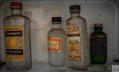 Grandma's Elixirs (The Dying Light) Tags: abandoned decay ruin old urbanexploration urbexvirginia rural ruralvirginia forgotten rust jdavidphotography jdavidphotos weatherchannel travel weatherchanneltravel cnntravel