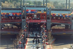 Super Bowl, 1998 (SDMTS) Tags: train sandiego metro stadium trolley tram transit 1998 superbowl lightrail streetcar lrt mts lrv sandiegotrolley metropolitantransitsystem