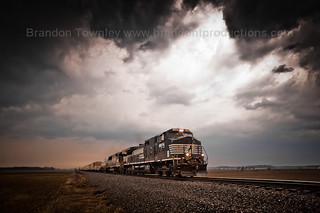 Norfolk Southern Rolls Out of the Storm