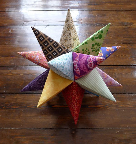 Patchwork 3D Star /Great stellated icosahedron
