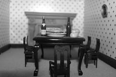 (Annie Neilson) Tags: door house table toys miniature scary child furniture games opendoors aliceinwonderland childlike dollshouse scaryhouse creapyhouse peopleintheroom