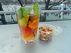 Pimms (phodiaries) Tags: food drink cashewnuts pimms
