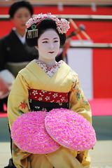 Maiko Odori Performance (Teruhide Tomori) Tags: portrait japan dance kyoto performance maiko   kimono tradition japon odori     canonef300mmf28lis  katsuhina canoneos5dmark