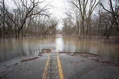 River (Bank) Run - Friday (Rudy Malmquist) Tags: mi river big long exposure flood michigan grand rapids filter lee gr heavy rains density stopper neutral 2013