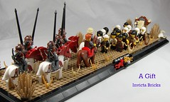 A Gift (Invicta Bricks) Tags: desert lego thomas nomad archers lcc loreos arrowford