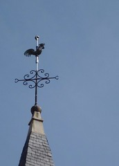 Eglise de Frontenas (fasaig) Tags: france wine churches cock rhne weathervane cockerel rhnealpes frontenas