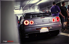 Chika Japan #1 (M.G.C Pictures) Tags: skyline nissan gtr r34