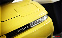 Chika Japan #1 (M.G.C Pictures) Tags: yellow jaune toyota supra mkiii