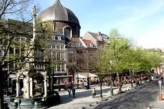 Lige: le Perron et la Place du March (2013) (LiveFromLiege) Tags: saint place perron du liege march andr lige terrasses
