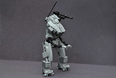Mecha Test Subject (| Fade |) Tags: robot war technology lego military weapons mecha