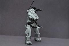 Mecha Test Subject (| Fade |) Tags: robot war technology lego military weapons mecha